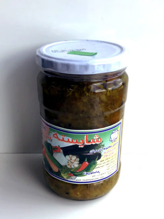 Pickled Eggplant form Shayesteh