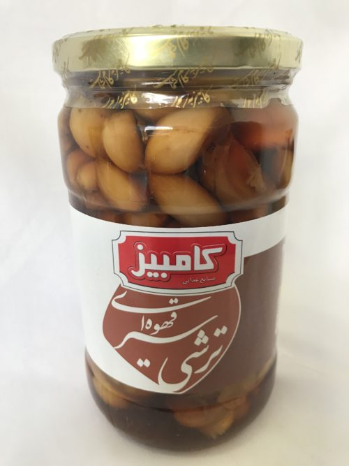 Pickled Garlic -Brown 700g- Kambiz BPP0042 1