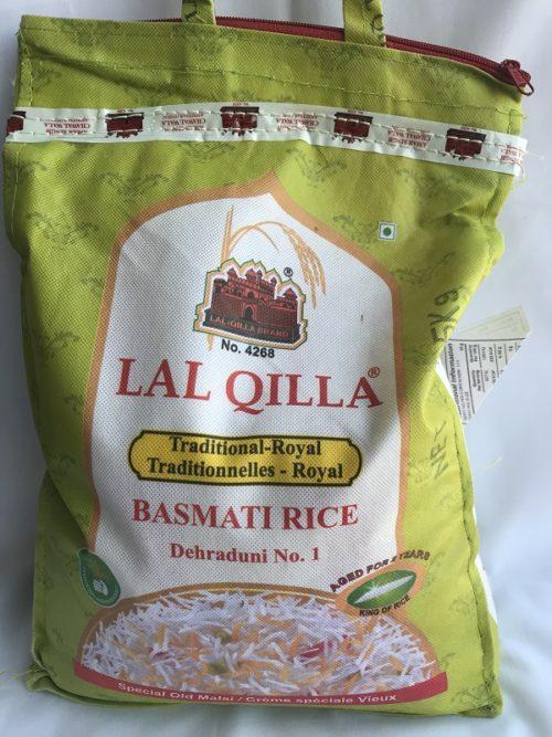 LAL QILA Rice- Basmati 5kg - Traditional Royal - BRI0020 1