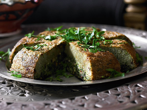 5 Great Persian Dishes - Kookoo Sabzi