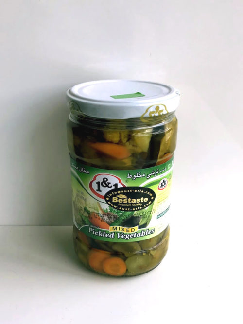 Pickled Mixed Vegetables from 1&1