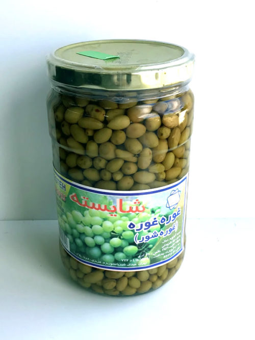 Pickled Sour Grapes from Shayesteh