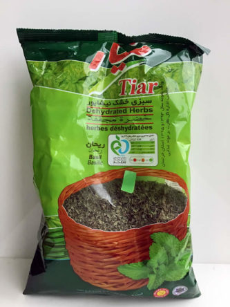 Dried Basil from Tiar