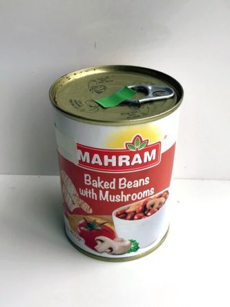 Baked Beans and Mushroom Mahram
