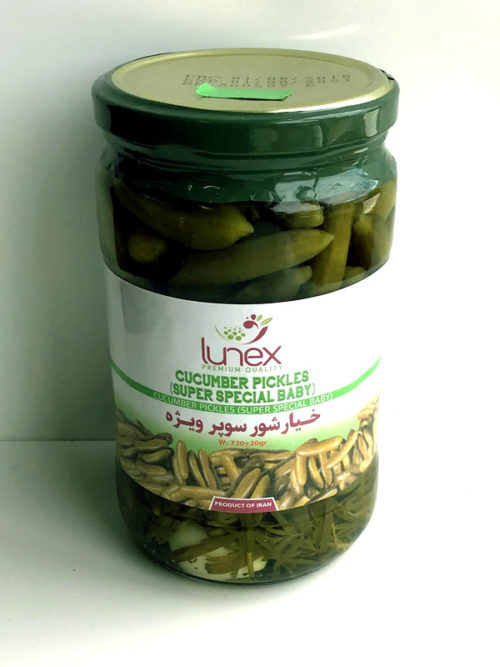 Pickled Cucumbers from Lunex