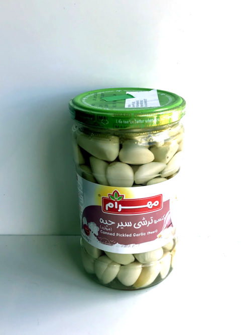 Pearl Pickled Garlic from Mahram