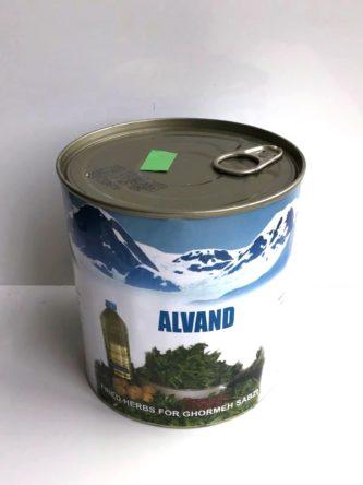 Ghormeh Sabzi Herbs – Fried 850g – Alvand