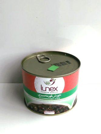 ghormeh sabzi stew from lunex